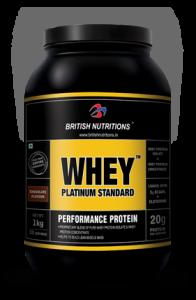 British nutrition platinum whey review