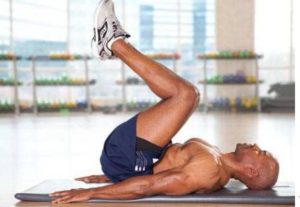 Reverse Crunches for six pack abs