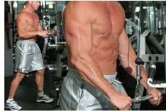 Tricep push down super fast muscle building workouts