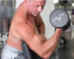 peacher curl for quick muscle building