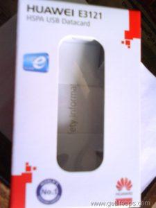 Huawei E3121 HSPA USB Datacard carton