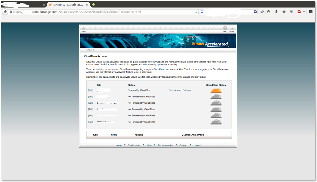 cloudflare integrated super fast shared web hosting reliable