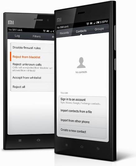 Xiaomi Mi3 Review Phonebook